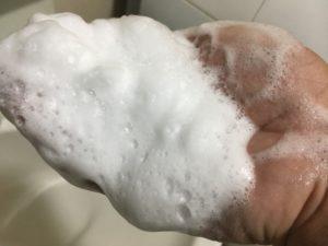 バルクオム 泡